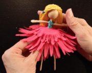 آموزش ساخت عروسک پری ساده کودک