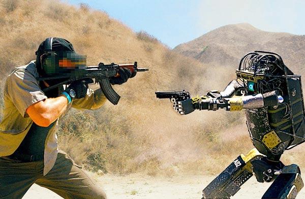 آخرین ربات های نظامی جنگی ارتش رباتها آینده