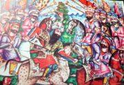 رایزنی تورانیان با ایرانیان_ شاهنامه
