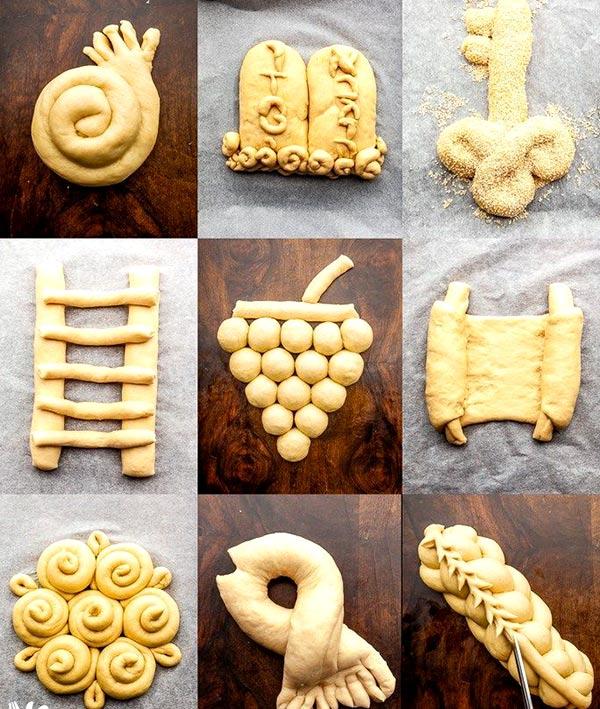 بافت خلاقانه نان و شیرمال