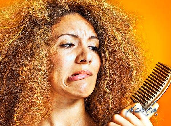 14 روش خانگی و ماسک طبیعی برای خلاص شدن از موهای فر و مجعد