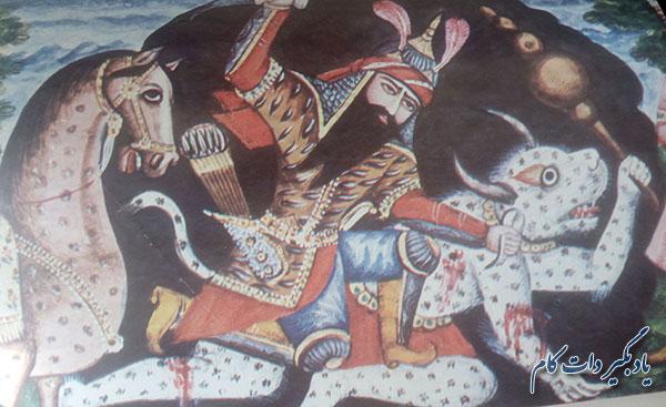 نبرد رستم در برابر کافور_داستانی از شاهنامه