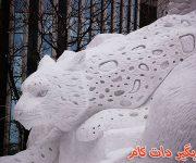 عکس های جذاب ازخلاقیت در برف